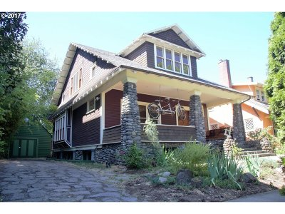 Multnomah County Single Family Home For Sale: 5027 NE 19th Ave