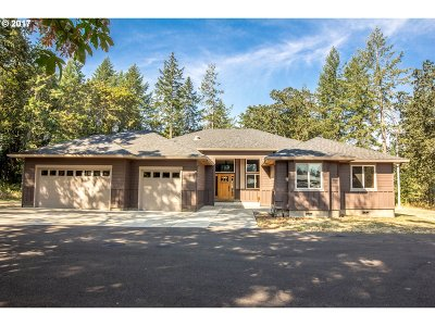 Scio Single Family Home For Sale: 38901 S Ruby Loop