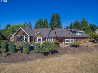 North Plains Single Family Home For Sale: 14300 NW Old Pumpkin Ridge Rd