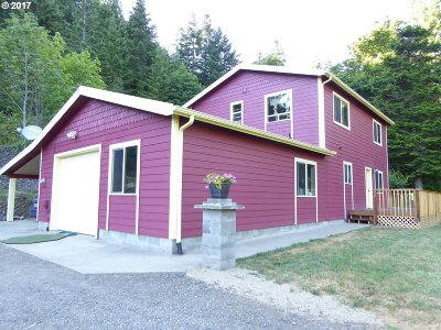 Gold Beach Single Family Home For Sale: 31721 Pedro Gulch Rd