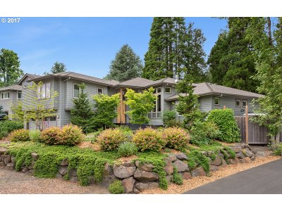 Portland OR Single Family Home For Sale: $1,000,000