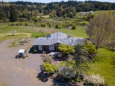 Canby Single Family Home For Sale: 12587 S Union Hall Rd