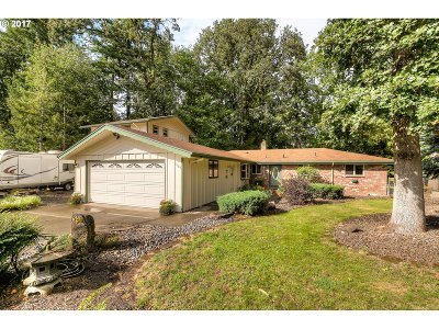 Wilsonville, Canby, Aurora Single Family Home For Sale: 13183 Brookside Dr