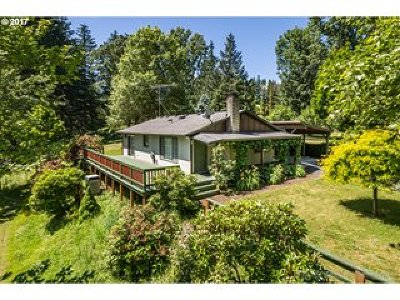 Scappoose Single Family Home For Sale: 32449 Callahan Rd