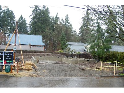 West Linn Single Family Home For Sale: 1595 Buck St #Lot4
