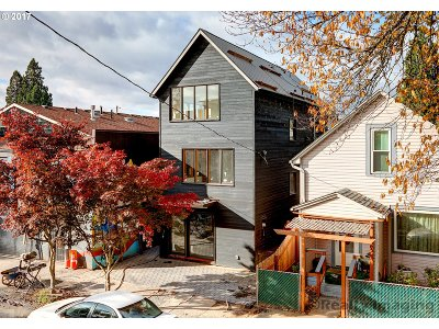 Multnomah County Single Family Home For Sale: 3913 N Michigan Ave