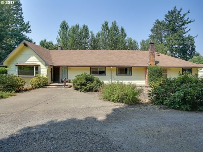 Aurora Single Family Home Sold: 24653 NE Butteville Rd