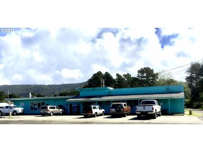 Gold Beach OR Commercial For Sale: $495,000