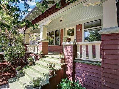 Multnomah County, Washington County, Clackamas County Single Family Home For Sale: 2811 SE Cesar E Chavez Blvd