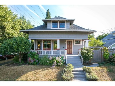 Portland Single Family Home For Sale: 1434 SE Harney St