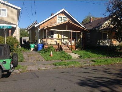 Multnomah County, Washington County, Clackamas County Single Family Home For Sale: 1349 NE Webster St