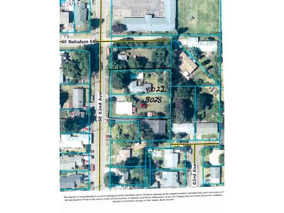 Residential Lots & Land For Sale: 8022 SE 62nd Ave