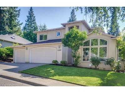Portland Single Family Home For Sale: 2480 SW 75th Ter