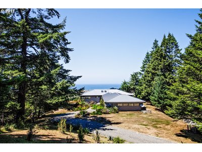 Gold Beach Single Family Home For Sale: 94860 Scouts View Rd