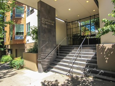 Portland Condo/Townhouse For Sale: 1535 SW Clay St #130