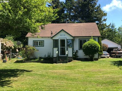 Coos Bay Single Family Home For Sale: 63719 S Barview Rd