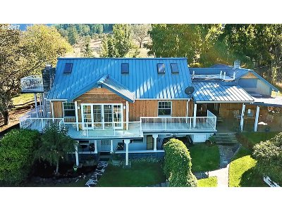 Sutherlin Single Family Home For Sale: 141 Denley Rd