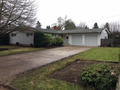 Eugene Single Family Home For Sale: 1733 Alderwood St