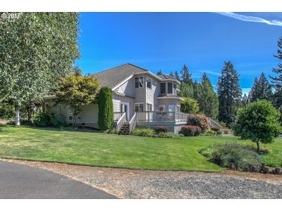 North Plains Single Family Home For Sale: 16477 NW Pumpkin Ridge Rd