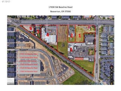 Beaverton Residential Lots & Land For Sale: 17030 SW Baseline Rd