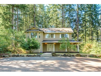 Scappoose Single Family Home For Sale: 30580 Cater Rd