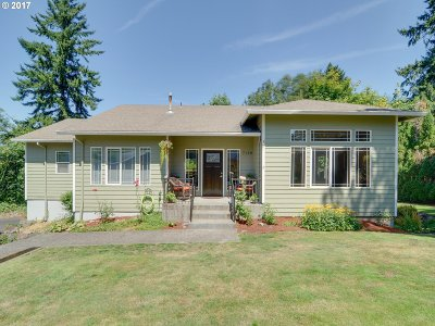 Milwaukie Single Family Home For Sale: 7148 SE Pamrick Ln