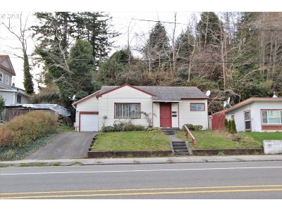 North Bend Single Family Home For Sale: 2362 Sherman Ave
