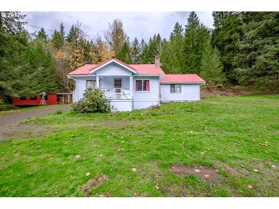 Mill City Single Family Home For Sale: 30819 N Santiam Hwy