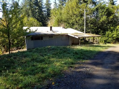 Coquille OR Single Family Home For Sale: $62,000