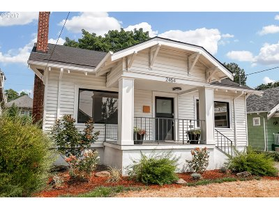 Single Family Home For Sale: 2454 NE 59th Ave