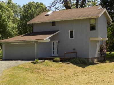 Springfield Single Family Home For Sale: 90645 Marcola Rd