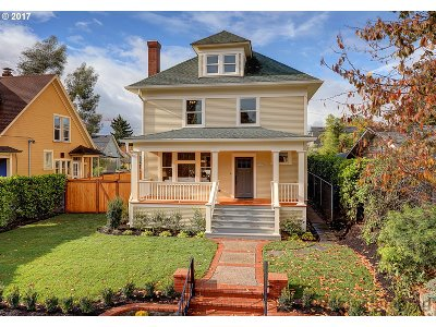 Portland Single Family Home For Sale: 3607 N Kerby Ave