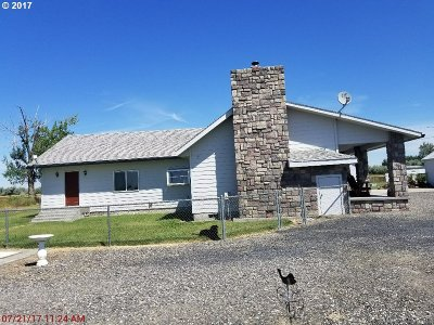 Umatilla County Single Family Home For Sale: 31331 Bowdin Ln
