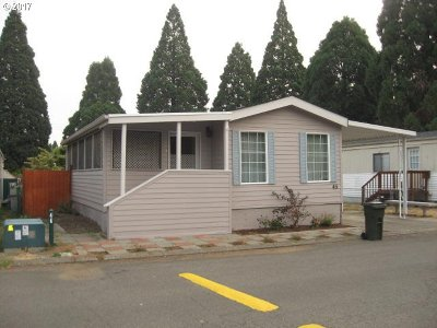 Canby OR Single Family Home For Sale: $49,500