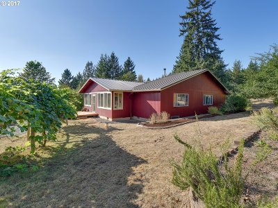 Estacada Single Family Home For Sale: 39611 SE Fall Creek Rd
