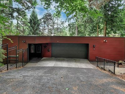 Portland Single Family Home For Sale: 1180 SW Skyline Blvd