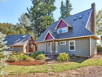 Aumsville Single Family Home Sold: 8712 Little Rd