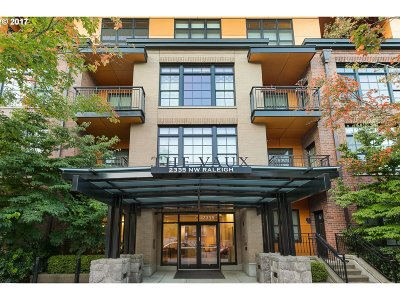 Condo/Townhouse For Sale: 2335 NW Raleigh St #413