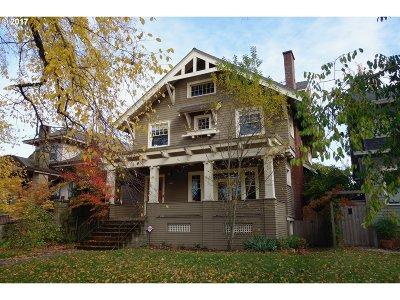 Clackamas County, Multnomah County, Washington County Single Family Home For Sale: 1850 SE Ladd Ave