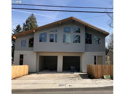 Portland Single Family Home For Sale: 4592 NE 72nd Ave #Lot 5