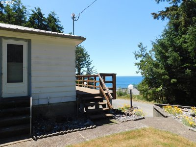 Port Orford Single Family Home For Sale: 41627 Hwy 101