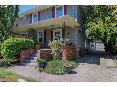 Single Family Home For Sale: 4815 NE Alameda St