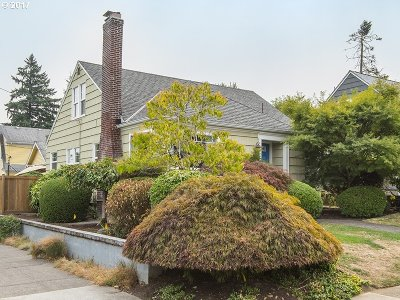 Portland Single Family Home For Sale: 4594 NE 35th Ave