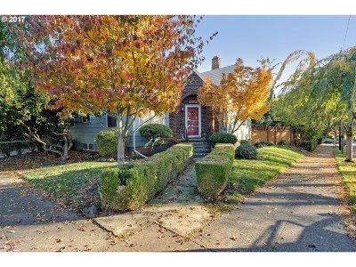 Portland Single Family Home For Sale: 705 SE Franklin St