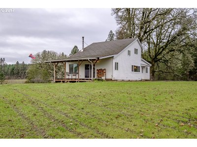 Junction City, Harrisburg Single Family Home For Sale: 93141 Bear Creek Ranch Rd