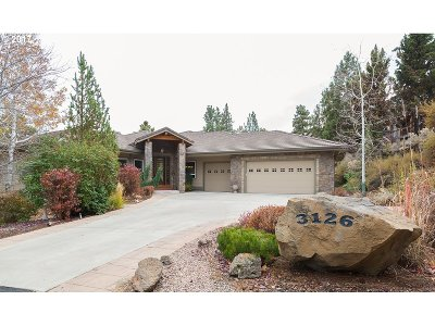 Bend Single Family Home For Sale: 3126 NW Quiet River Ln