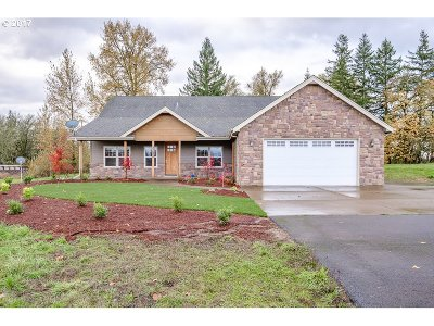 Scio Single Family Home Pending: 37690 Gilkey Rd
