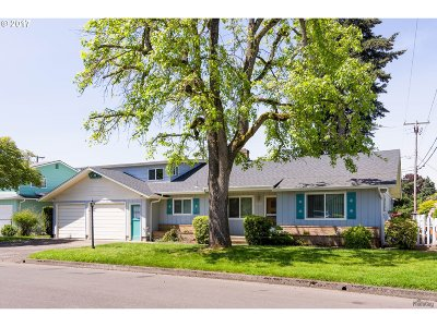 Eugene OR Single Family Home Sold: $267,000