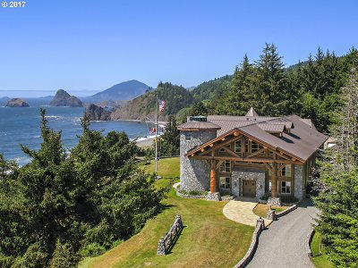 Gold Beach Single Family Home For Sale: 35400 Hwy 101