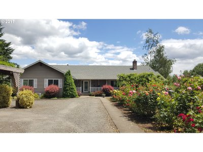 Newberg, Dundee, Mcminnville, Lafayette Single Family Home For Sale: 17900 NE North Valley Rd